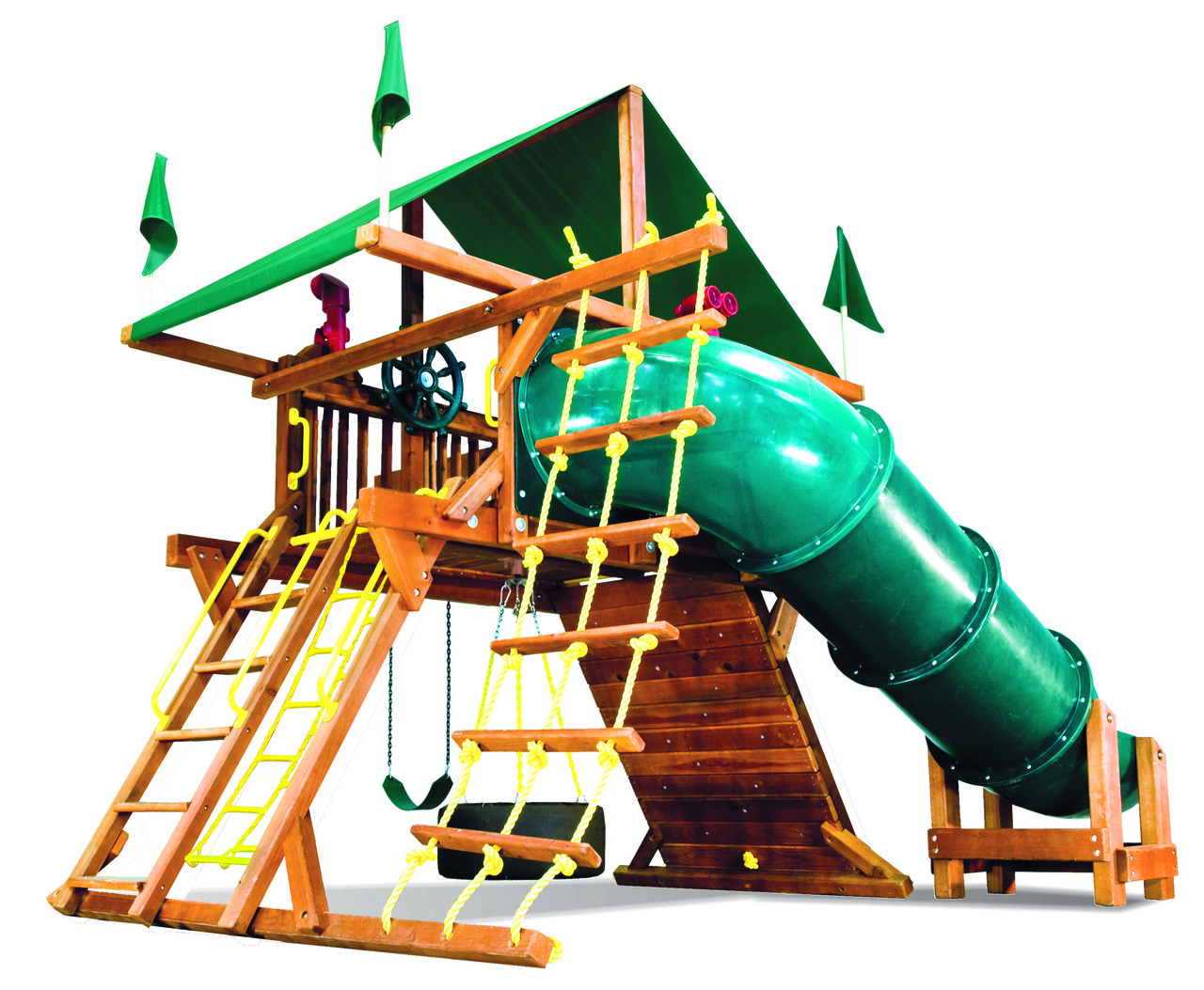 Саншайн Кастл I СпейсСейвер Тент (Sunshine Castle Pkg I Spacesaver with 90 Tube Slide RYB)