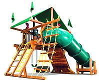 Саншайн Кастл I СпейсСейвер Тент (Sunshine Castle Pkg I Spacesaver with 90 Tube Slide RYB), фото 1
