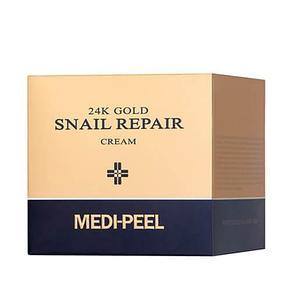 Омоложивающий премиум-крем с золотом и муцином улитки Medi-peel24K Gold Snail Cream (50гр.), фото 2