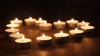 Свечки для ванны 50 шт. Романтический вечер