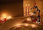 Свечки для ванны 50 шт., в форме сердца, Романтический вечер, фото 3