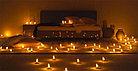 Свечки для ванны 50 шт., в форме сердца, Романтический вечер, фото 4