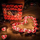 Свечки для ванны 50 шт., в форме сердца, Романтический вечер, фото 6