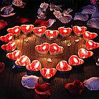 Свечки для ванны 50 шт., в форме сердца, Романтический вечер, фото 7