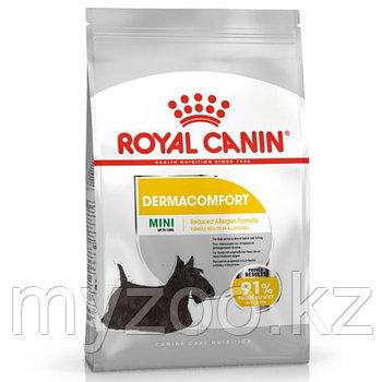 Royal Canin MINI DERMACOMFORT 26, 3 kg. Корм для взрослых собак с чувствительной кожей