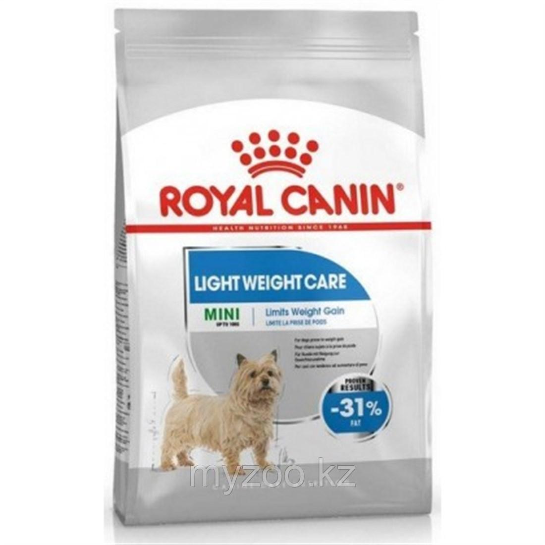 Royal Canin Mini Light 3 kg Корм для собак мелких пород склонных к избыточному весу
