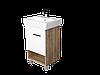 Тумба с раковиной Tera 60 см. напольная (1 дверка). Дуб сонома