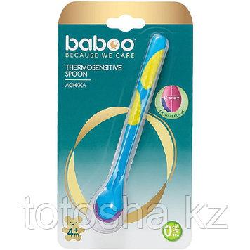 Ложка термочувствительная 4 м+ Baboo 10-007