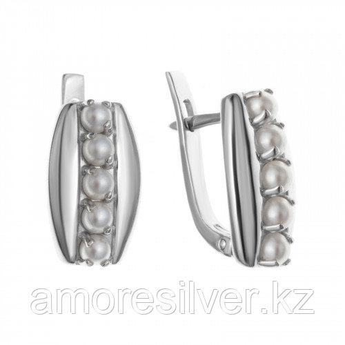 Серьги из серебра с жемчугом   Teosa 2000-0371-PL
