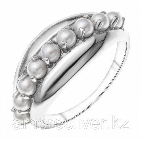 Серебряное кольцо с жемчугом   Teosa 1000-0371-PL