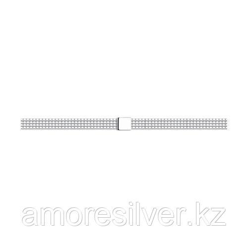 Браслет из серебра SOKOLOV 94054698 размеры - 17
