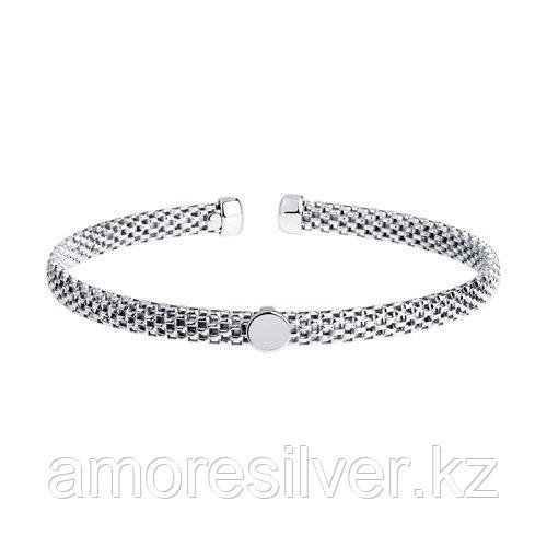 Браслет из серебра SOKOLOV 94054702 размеры - 18