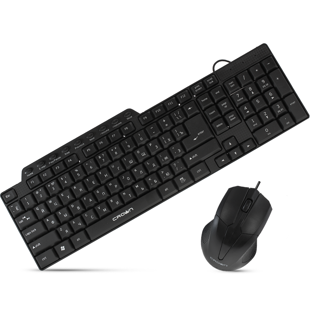 Проводная Клавиатура + Мышь CMMK - 520B
