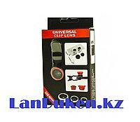 Объектив для телефона Universal Clip Lens 3 в 1, фото 1
