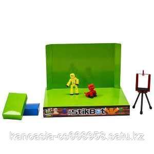 Stikbot Игрушка Stikbot анимационная студия со сценой и питомцем, в ассортименте.