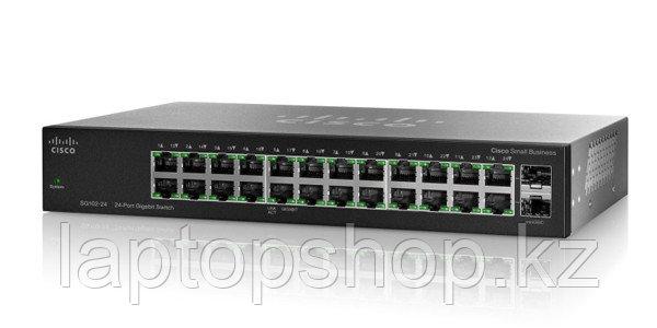 Свич Cisco SG112-24, 24-port Gigabit Switch