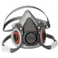 Полумаска, респиратор 3М 6200 / Half mask 3M 6200