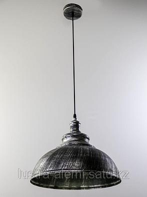 Люстра подвесная 7939/1 BK+CR, фото 2