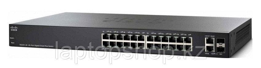 Свич Cisco SG220-26  26-port Gigabit Smart Plus Switch