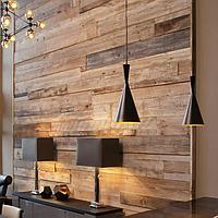 Дизайн и изготовление деревянных стеновых панелей