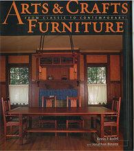 Книга *Arts and Crafts Furniture*, Kevin Rodel & Johnathan Binzen