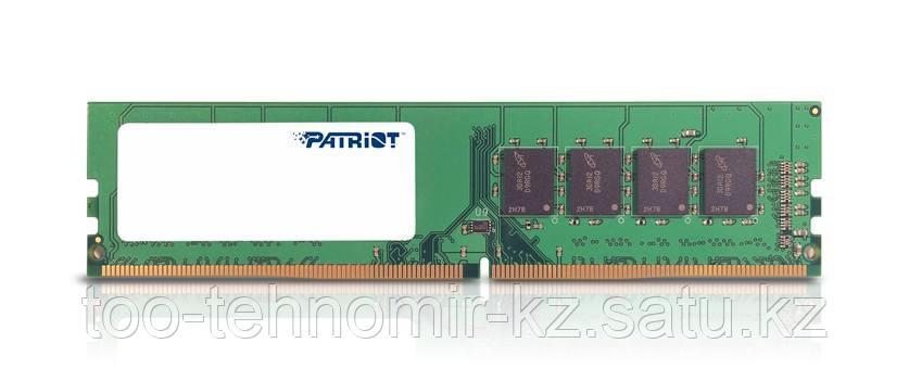 Оперативная память DDR4 4Gb (2400 MHz) PATRIOT PC-19200HS v2 <512x8, 1.2V