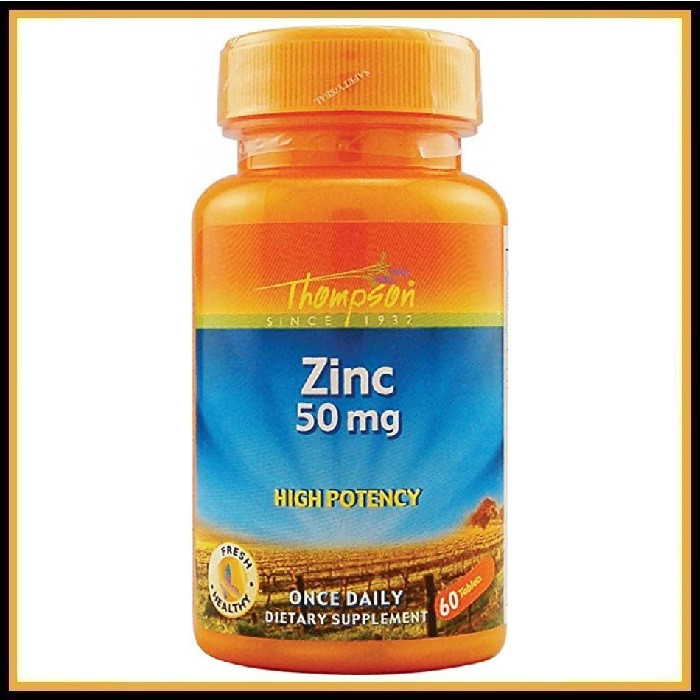 Zinc Thompson 50mg (60 tabs)