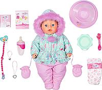Кукла интерактивная Зимняя Baby born 43 см, фото 1