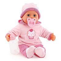Игрушка пупс Bayer Dolls Первые звуки малыша 38см, фото 1