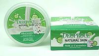 Крем для лица и тела Deoproce Natural Skin Nourishing Cream Milk & Cucumber 100g., фото 1