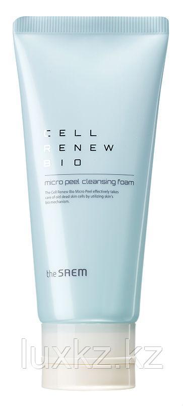 Пенка для умывания The Saem Cell Renew Bio Micro Peel Cleansing Foam