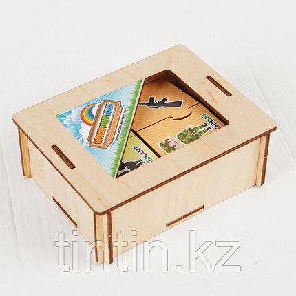 Пазл-набор «Профессии» (двойной в деревянной коробке), фото 2