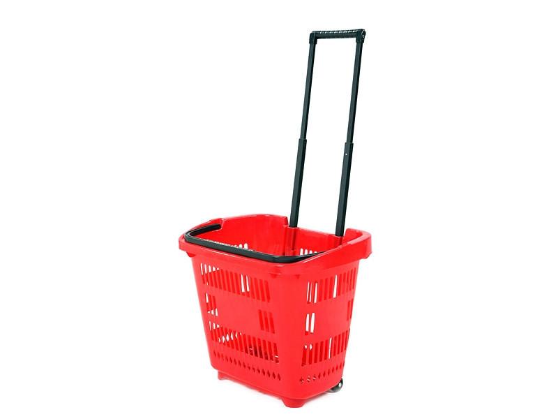 Покупательская пластиковая корзина EKSI RD
