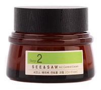Крем для жирной и проблемной кожи The Saem See & Saw AC Control Cream