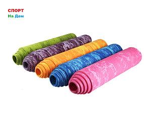 Йога мат коврик для фитнеса каримат (размеры: 61 х 183 х 1 см)
