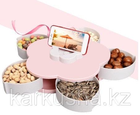 Менажница раздвижная для конфет и мелочей Цветок