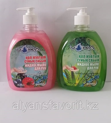 Voka- жидкое мыло для рук антибактериальное (бактерицидное .500 мл.РК, фото 2