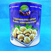 Шампиньоны целые консервы чистый продукт 2840 гр