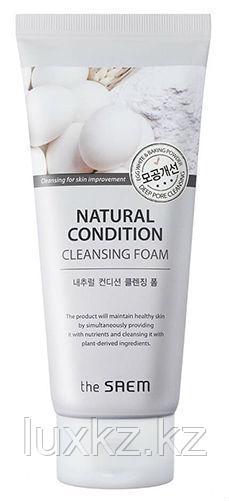 Очищающая пенка-скраб для лица The Saem Natural Condition Scrub Foam