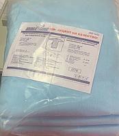 Халат хирургический нестерильный одноразовый DOLCE-PHARM, размер L