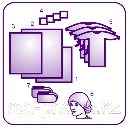 Комплект офтальмологический DOLCE-PHARM, фото 2