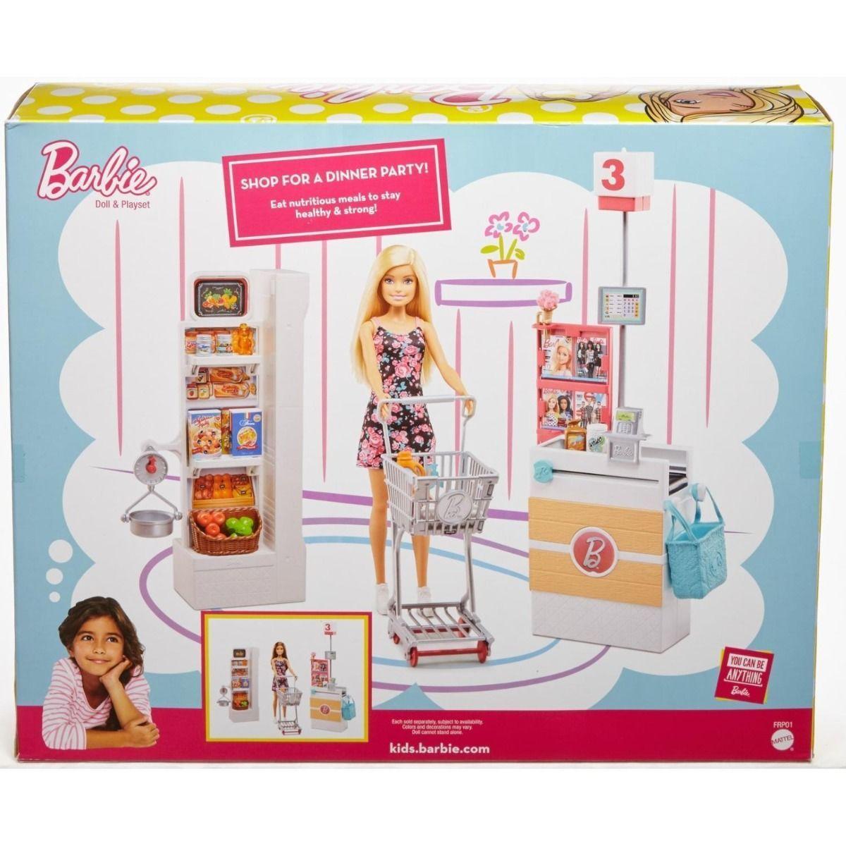 Набор с куклой Barbie Супермаркет - фото 4