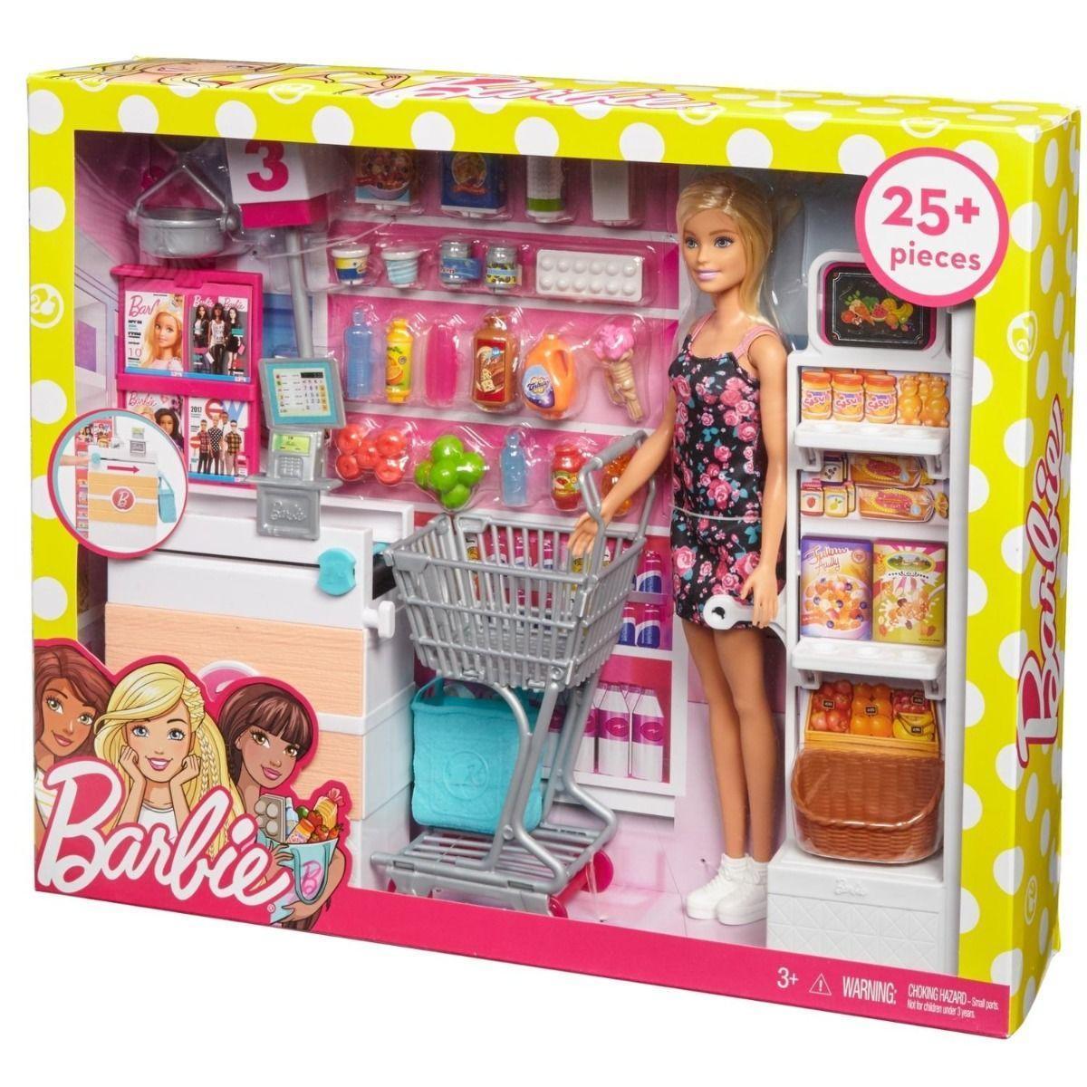 Набор с куклой Barbie Супермаркет - фото 7