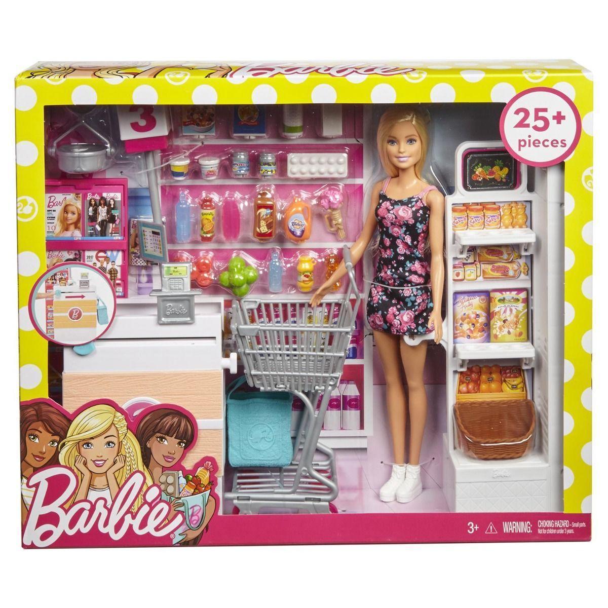 Набор с куклой Barbie Супермаркет - фото 8