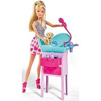 Кукла Simba Штеффи с двумя собачками + столик и 8 аксессуаров, фото 1