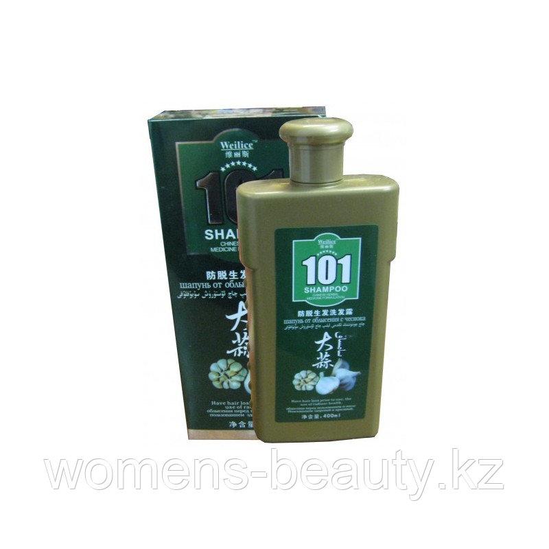 """Шампунь для волос """"Oumile 101"""" от облысения с чесноком, 400 мл."""