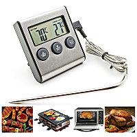 Кухонный колбасный термометр с зондом и таймером TP700