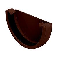 Заглушка желоба универсальная, коричневый, FineBer, фото 1