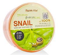 Увлажняющий гель со слизью улитки FarmStay Moisture Soothing Gel Snail
