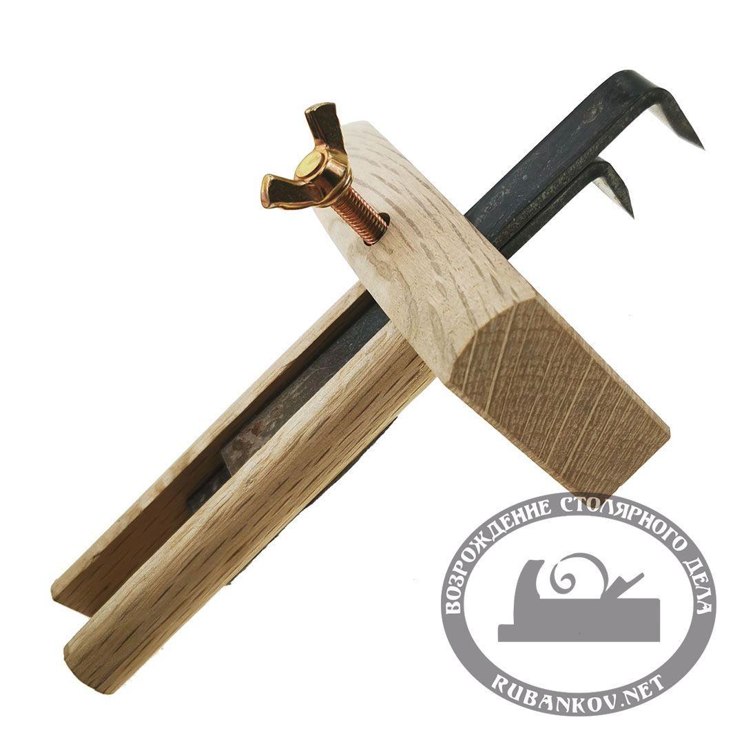 Рейсмус японский, деревянный, с двумя ножами, 80мм